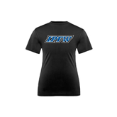Youth Syntrel Performance Black Training Tee-IPFW