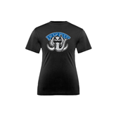 Youth Syntrel Performance Black Training Tee-Arched IPFW with Mastodon