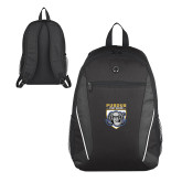 Atlas Black Computer Backpack-Primary Athletic Logo