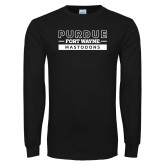 Black Long Sleeve T Shirt-Nickname Wordmark