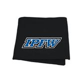 Black Sweatshirt Blanket-IPFW