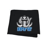 Black Sweatshirt Blanket-Mastodon with IPFW