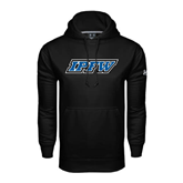 Under Armour Black Performance Sweats Team Hoodie-IPFW