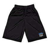 Midcourt Performance Black 9 Inch Game Short-Arched IPFW with Mastodon