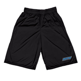 Midcourt Performance Black 9 Inch Game Short-IPFW