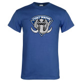 Royal T Shirt-Primary Distressed