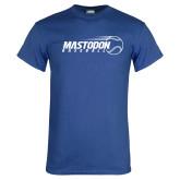 Royal T Shirt-Baseball Graphic