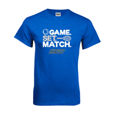 Royal T Shirt-Game Set Match Tennis Design
