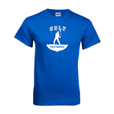 Royal T Shirt-Golfer Golf Design