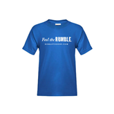 Youth Royal T Shirt-Feel The Rumble