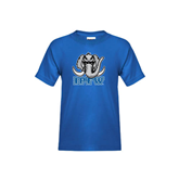 Youth Royal T Shirt-Mastodon with IPFW