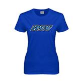 Ladies Royal T Shirt-IPFW