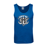 Royal Tank Top-IPFW Mastodon Shield