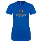 Next Level Ladies SoftStyle Junior Fitted Royal Tee-Mastodon Mom