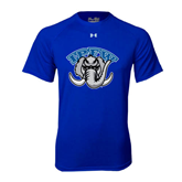 Under Armour Royal Tech Tee-Arched IPFW with Mastodon