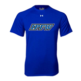 Under Armour Royal Tech Tee-IPFW