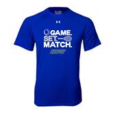 Under Armour Royal Tech Tee-Game Set Match Tennis Design