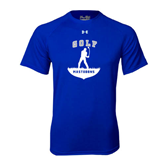 Under Armour Royal Tech Tee-Golfer Golf Design