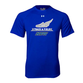Under Armour Royal Tech Tee-Track and Field Side Shoe Design