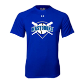 Under Armour Royal Tech Tee-Softball Bats and Plate Design