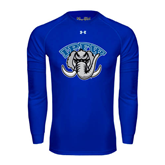 Under Armour Royal Long Sleeve Tech Tee-Arched IPFW with Mastodon