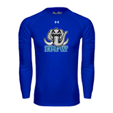 Under Armour Royal Long Sleeve Tech Tee-Mastodon with IPFW