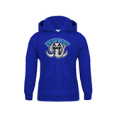 Youth Royal Fleece Hoodie-Arched IPFW with Mastodon