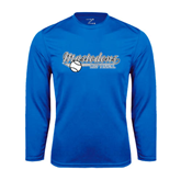 Syntrel Performance Royal Longsleeve Shirt-Softball Design