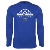 Performance Royal Longsleeve Shirt-Mastodon Soccer