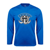 Syntrel Performance Royal Longsleeve Shirt-Arched IPFW with Mastodon