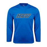 Syntrel Performance Royal Longsleeve Shirt-IPFW