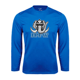 Syntrel Performance Royal Longsleeve Shirt-Mastodon with IPFW