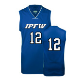 Replica Royal Adult Basketball Jersey-#12
