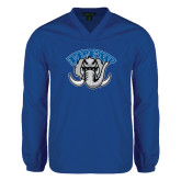 V Neck Royal Raglan Windshirt-Arched IPFW with Mastodon