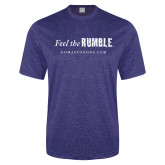 Performance Royal Heather Contender Tee-Feel the Rumble