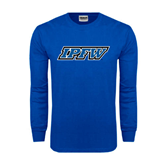Royal Long Sleeve T Shirt-IPFW