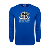 Royal Long Sleeve T Shirt-Mastodon with IPFW