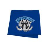 Royal Sweatshirt Blanket-Arched IPFW with Mastodon
