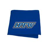 Royal Sweatshirt Blanket-IPFW