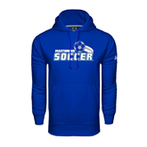 Under Armour Royal Performance Sweats Team Hood-Soccer Swoosh Design