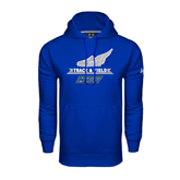 Under Armour Royal Performance Sweats Team Hood-Track and Field Side Shoe Design