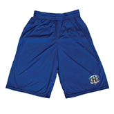 Midcourt Performance Royal 9 Inch Game Short-IPFW Mastodon Shield