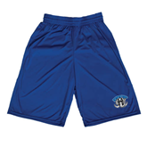 Midcourt Performance Royal 9 Inch Game Short-Arched IPFW with Mastodon