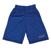 Midcourt Performance Royal 9 Inch Game Short-IPFW