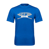 Syntrel Performance Royal Tee-Baseball Bats Design