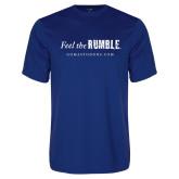 Performance Royal Tee-Feel the Rumble