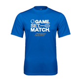 Syntrel Performance Royal Tee-Game Set Match Tennis Design