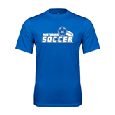 Syntrel Performance Royal Tee-Soccer Swoosh Design