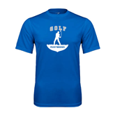 Syntrel Performance Royal Tee-Golfer Golf Design