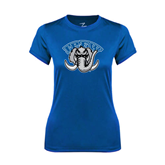 Ladies Syntrel Performance Royal Tee-Arched IPFW with Mastodon